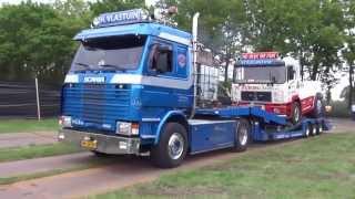 getlinkyoutube.com-aankomst trucks, voor truck pulling stroe 2015