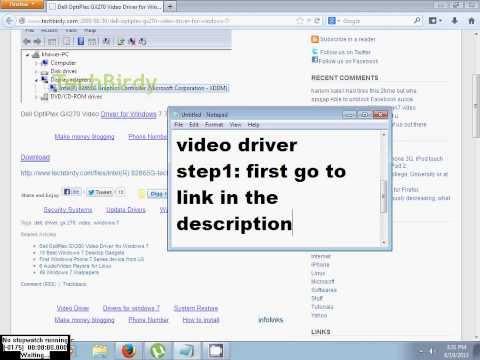 Dell Optiplex Gx270 Windows 7 Video Drivers