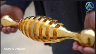 getlinkyoutube.com-Mysterious gold object found in ancient Israel cemetery