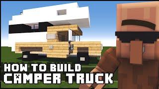 getlinkyoutube.com-► Minecraft : How to Make - Camper Truck