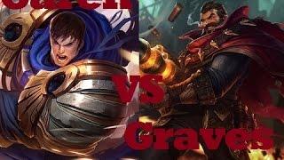 getlinkyoutube.com-Garen VS Graves: Season 6? - League of Legends Commentary