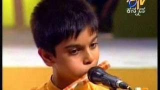 getlinkyoutube.com-10 year old Akash' s Raga Durga on flute for Bala Gandharva