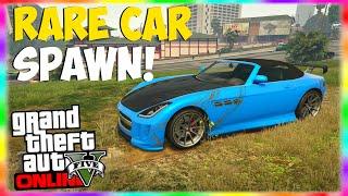 "GTA 5 Online: Rare Upgraded $100,000 Car Location! ""Benefactor Surano Location"" GTA 5 Rare Cars!"