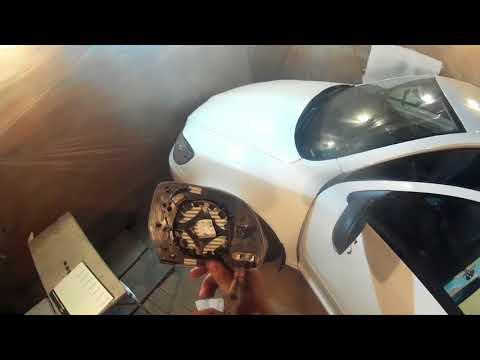 Демонтаж зеркала шкода октавия а5