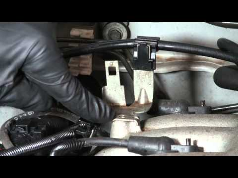 Xterra knock sensor relocation p0325 code