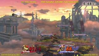 getlinkyoutube.com-(SLHG) 5/5/15 Slugfest KotH: JDA7 (C Falcon) vs RynnyRyn (Bowser)