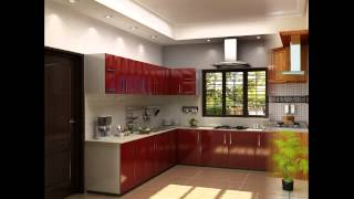 getlinkyoutube.com-Kitchen gallery, Kerala House Plan, Kerala's No 1 House Planners - January 2013