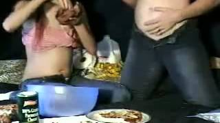 getlinkyoutube.com-Belly stuffing contest