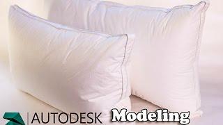 getlinkyoutube.com-3DS MaX Tutorial  - Modeling Pillow using Cloth simulation