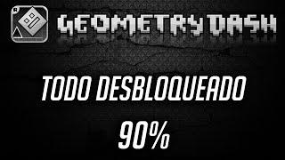 getlinkyoutube.com-[TUTORIAL NO HACK] (PC) -CÓMO TENER TODOS LOS ICONOS DE GEOMETRY DASH (2.01) [90%]