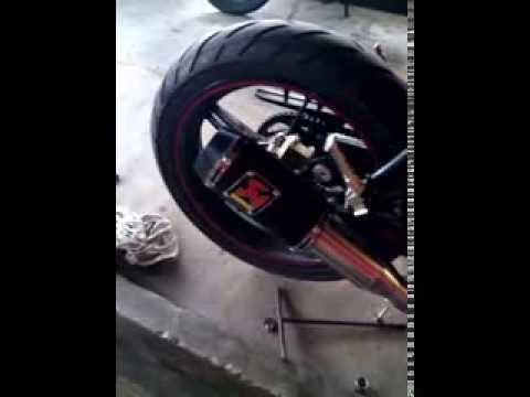 (WAHANA Knalpot) Test Sound Akrapovic M1 model moto GP Lorenzo