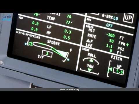 Flight Quito Santa Rosa Ecuador Embraer 170 Tame – HD