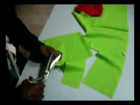 blouse cutting mathod