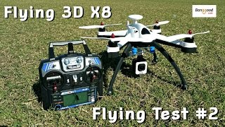 getlinkyoutube.com-Flying 3D X8 VS. Cheerson CX-20 Quadcopter - Test # 2 with the SJCAM M10!