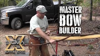 getlinkyoutube.com-Master Bow Builder Series Part 1- Preparing the Stave