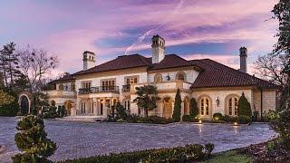 getlinkyoutube.com-25 MILLION DOLLAR MEDITERRANEAN ESTATE - Luxury Mansion Tour in Atlanta Georgia