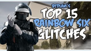 getlinkyoutube.com-15 AMAZING RAINBOW SIX GLITCHES | Rainbow Six Siege Glitches