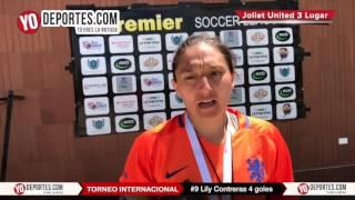 Lily Contreras anota 4 goles Joliet United vs. La Juve