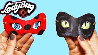 getlinkyoutube.com-Prodigiosa las Aventuras de Ladybug   Ladybug Cat Noir   Boya Boya Pinta Pinta   Cómo Hacer Máscaras