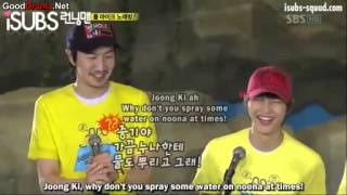 getlinkyoutube.com-Song Joong Ki is being treated differently from Lee Kwang Soo (Funny cut Running Man ep 31)