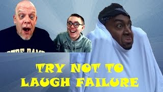 "getlinkyoutube.com-REACTION TIME | Killed Again By A ""Try Not To Laugh"" Vid!"