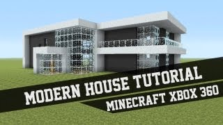 getlinkyoutube.com-Large Modern House Tutorial - Minecraft Xbox 360 #1