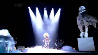 getlinkyoutube.com-Lady Gaga - Brit Awards 2010
