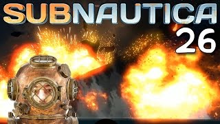 "getlinkyoutube.com-Subnautica Gameplay Ep 26 - ""GIANT MOTHERSHIP EXPLOSION!!!"" 1080p PC"