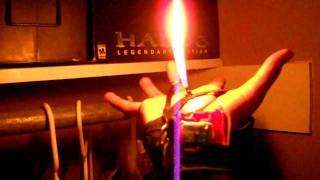getlinkyoutube.com-Hand  flame thrower (pyro system)