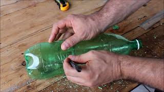 getlinkyoutube.com-Como Fazer Uma horta vertical orgânica com garrafas pet - reciclagem