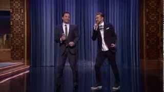 "getlinkyoutube.com-Jimmy Fallon & Justin Timberlake ""History of Rap 5"" (Mr. Dee Remix) [part 1]"