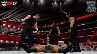 getlinkyoutube.com-WWE 2K17 Story: The Shield returns to RAW! (WWE RAW 2016 Custom Story)