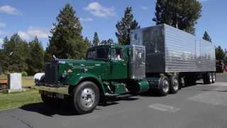 getlinkyoutube.com-Antique Trucks Visit Train Mountain