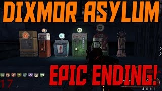 getlinkyoutube.com-DIXMOR ASYLUM - EPIC ENDING! - Custom Zombies Gameplay (PART 2/2)