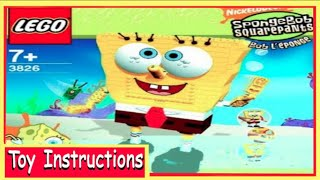 getlinkyoutube.com-How To Build-LEGO SpongeBob Squarepants 3826 Build-a-Bob Instructions