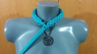 getlinkyoutube.com-Rope Bondage Tutorial: Neck Collar