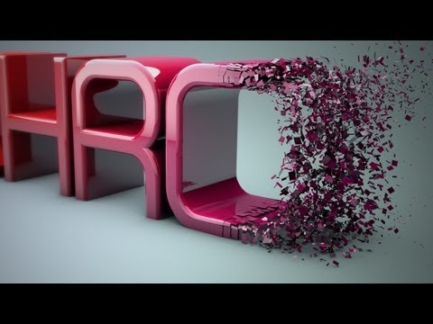 Cinema 4D r14 Tutorial: Particles Transition to Text - PolyFX