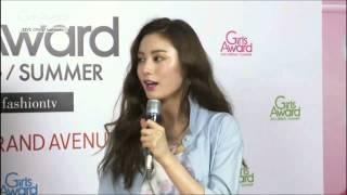 getlinkyoutube.com-150429 AFTERSCHOOL NANA Interview cut @ Girls Award S/S 2015