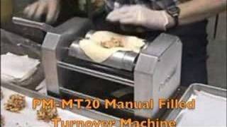 PM-MT20 Manual Filled Turnover Machine