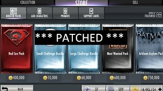 getlinkyoutube.com-PATCHED*** Injustice Mobile (glitch): Unlim packs, opening 40+ Most Wanted and 40+ Challenge Packs
