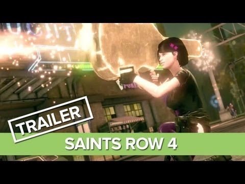 Saints Row 4 Gameplay Trailer - Announcement Trailer