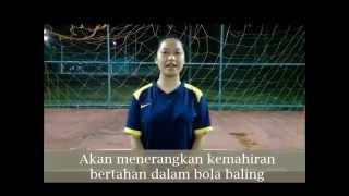 getlinkyoutube.com-Kemahiran Bertahan Bola Baling