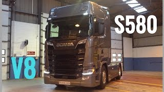 SCANIA All New Next Generation Trucks S580 & R450 - Stavros969 4K