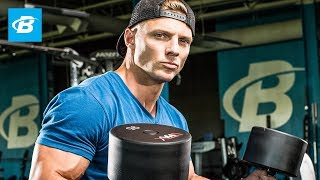 getlinkyoutube.com-Steve Cook's Strength-Building Chest And Back Workout