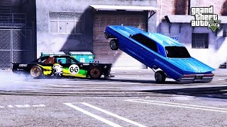 GTA 5: KEN BLOCK GYMKHANA !! DRIFT TAMPA OF LOS SANTOS
