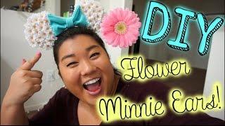 getlinkyoutube.com-DIY With Remi! DIY Floral Minnie Ears!
