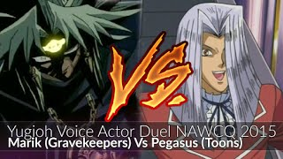 getlinkyoutube.com-Pegasus (Toons) Vs Marik (Gravekeepers) - Yugioh Voice Actor Duel NAWCQ 2015