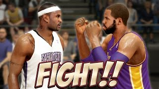 getlinkyoutube.com-FIGHT, FIGHT, FIGHT, ... You Better Bring It, Jackson Ellis! | NBA 2K14 Next Gen MyCareer