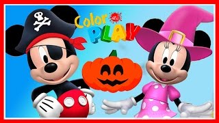 getlinkyoutube.com-Mickey Mouse Clubhouse Halloween Game - Mickey And Minnie - Disney Junior App For Kids