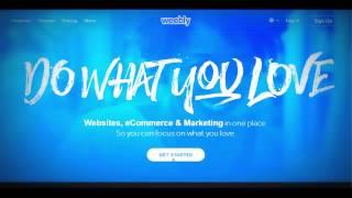 getlinkyoutube.com-How to Make a Website Using Weebly